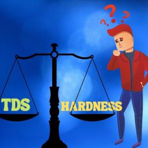 ความแตกต่างระหว่าง TDS และความกระด้าง (Hardness)